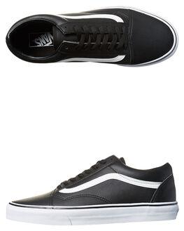 BLACK TRUE WHITE MENS FOOTWEAR VANS SKATE SHOES - VN-08G1NQRBLK