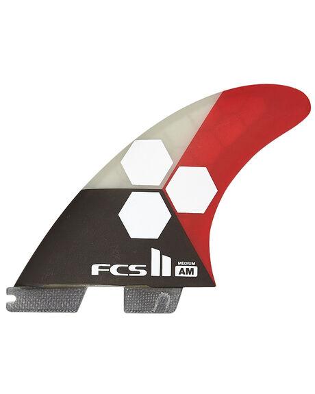 FLAME BOARDSPORTS SURF FCS FINS - FAMM-PC02-TS-RFLAME1