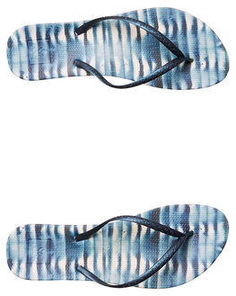 INDIGO SHIBORI WOMENS FOOTWEAR REEF THONGS - A2YFLSHIB