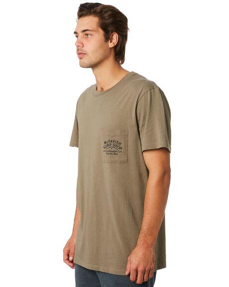 TEA LEAF MENS CLOTHING MCTAVISH TEES - MW-19T-04TEALF