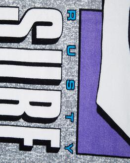 STONE GREY MENS ACCESSORIES RUSTY TOWELS - TWM0150SOG