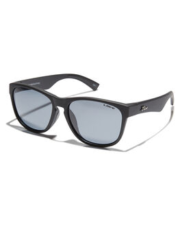 MATTE BLACK MENS ACCESSORIES LIIVE VISION SUNGLASSES - L0575AMTBLK
