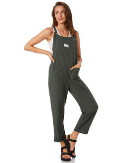 FLIGHT GREEN WOMENS CLOTHING STUSSY PLAYSUITS + OVERALLS - ST193608FLTGR
