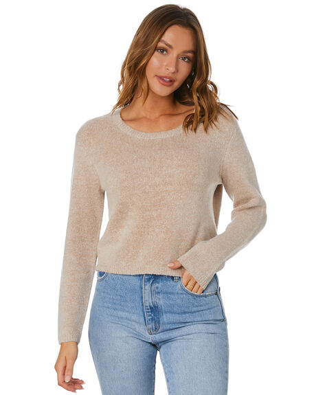 SABLE WOMENS CLOTHING RUSTY KNITS + CARDIGANS - CKL0391-SAB