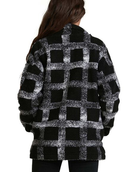 ANTHRACITE WOMENS CLOTHING ROXY JACKETS - ERJPF03056-KVJ1