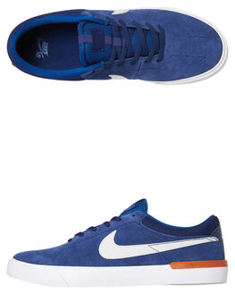 BLUE VOID MENS FOOTWEAR NIKE SKATE SHOES - 844447-400