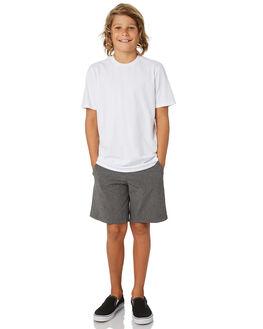 BLACK HEATHER KIDS BOYS HURLEY SHORTS - AO2205032