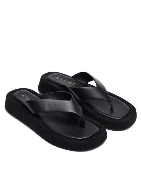 BLACK WOMENS FOOTWEAR BILLINI FASHION SANDALS - S731BLK