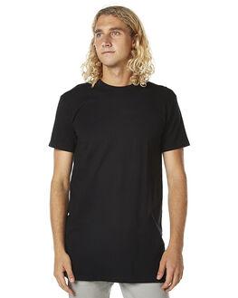 BLACK MENS CLOTHING AS COLOUR TEES - ASC5013BLK