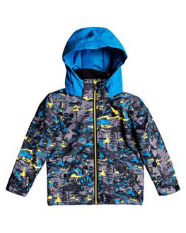 SULPHUR POP FOREST BOARDSPORTS SNOW QUIKSILVER KIDS - EQKTJ03010-GJC1