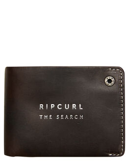 BLACK MENS ACCESSORIES RIP CURL WALLETS - BWLMD10090
