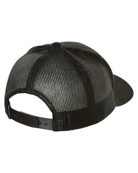 BLACK MENS ACCESSORIES VOLCOM HEADWEAR - D5541549BLK