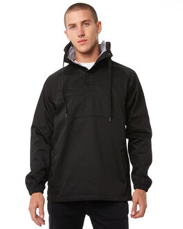 BLACK MENS CLOTHING IMPERIAL MOTION JACKETS - 201603009055BLK