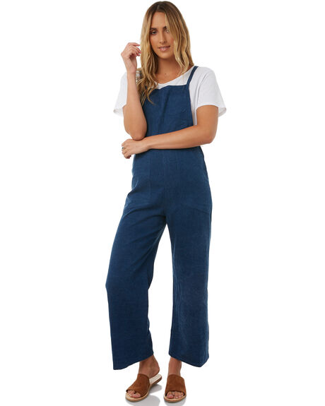 BLUE WOMENS CLOTHING LILYA PLAYSUITS + OVERALLS - DNJS11-PRLAW18BLU
