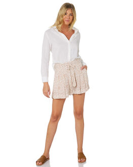 OFF WHITE WOMENS CLOTHING RIP CURL SHORTS - GWAFS10003