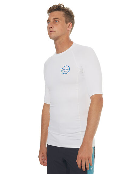 WHITE SURF RASHVESTS XCEL MENS - MLC40517WHT