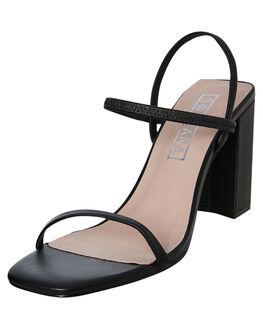 BLACK WOMENS FOOTWEAR SOL SANA HEELS - SS191S301BLK