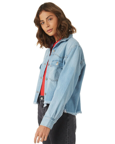 YOUR BEST SHOT WOMENS CLOTHING LEVI'S FASHION TOPS - 56402-0000YBS