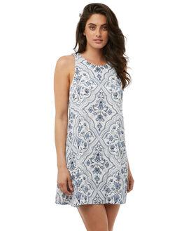 WHITE WOMENS CLOTHING TIGERLILY DRESSES - T385408WHITE