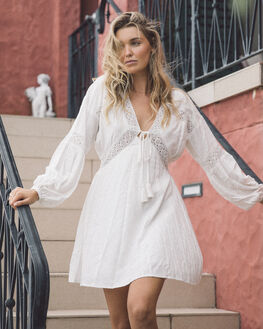 WINTER WHITE WOMENS CLOTHING O'NEILL DRESSES - HO9416007WWT