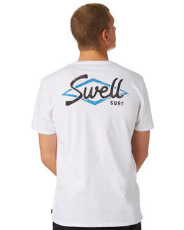 WHITE MENS CLOTHING SWELL TEES - S5184026WHITE