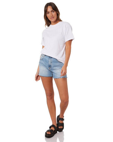 WHITE WOMENS CLOTHING SILENT THEORY TEES - 6073040WHT