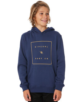 WASHED NAVY KIDS BOYS RIP CURL JUMPERS + JACKETS - KFEQU19741