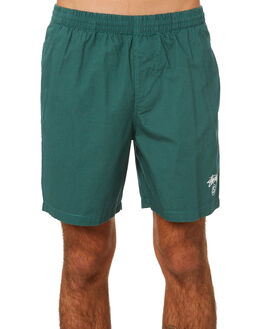 DARK TEAL MENS CLOTHING STUSSY SHORTS - ST091601DKTL