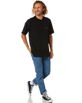 BLACK MENS CLOTHING PATAGONIA TEES - 38511BLK