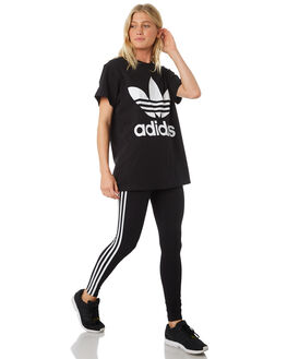 BLACK WOMENS CLOTHING ADIDAS ACTIVEWEAR - CE2441BLK