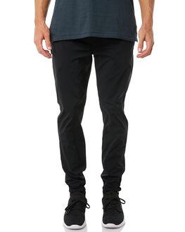 BLACK MENS CLOTHING ZANEROBE PANTS - 700-PREBLK