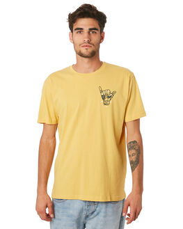 MUSTARD MENS CLOTHING IMPERIAL MOTION TEES - 201901002046MUSTD