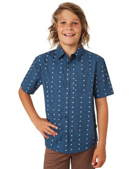 NAVY KIDS BOYS SWELL TOPS - S3182168NAVY