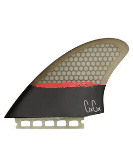 BLACK BOARDSPORTS SURF CAPTAIN FIN CO. FINS - CFF2411501BLK