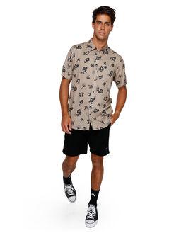 DUST YELLOW MENS CLOTHING RVCA SHIRTS - RV-R191182-DYL