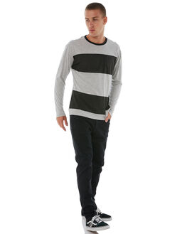 GREY HEATHER MENS CLOTHING HURLEY KNITS + CARDIGANS - AJ1801050