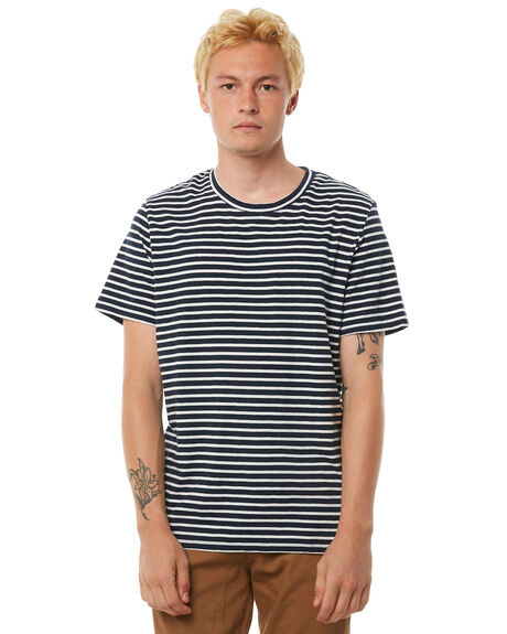 NAVY MENS CLOTHING ACADEMY BRAND TEES - 18W402NVY