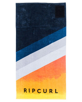 ORANGE MENS ACCESSORIES RIP CURL TOWELS - CTWCH10030