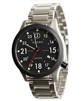 BLACK MENS ACCESSORIES ELECTRIC WATCHES - EW0010010001