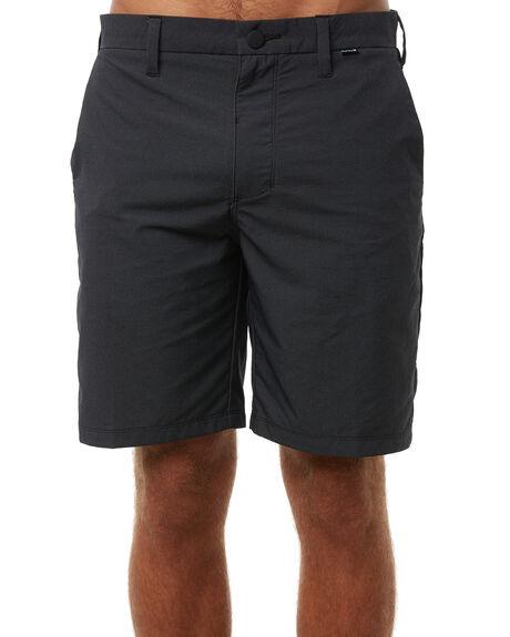 BLACK MENS CLOTHING HURLEY SHORTS - 895076010
