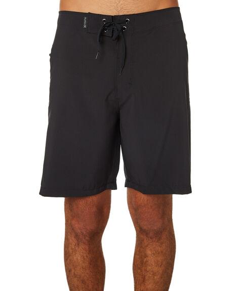 BLACK MENS CLOTHING HURLEY BOARDSHORTS - AR9755010