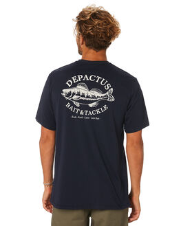 NAVY MENS CLOTHING DEPACTUS TEES - D5193004NAVY
