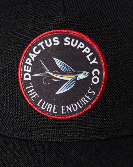 BLACK MENS ACCESSORIES DEPACTUS HEADWEAR - D52031611BLACK