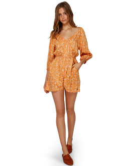 GOLD DUST WOMENS CLOTHING BILLABONG PLAYSUITS + OVERALLS - BB-6591502-GDD