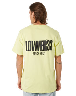 FROZEN YELLOW MENS CLOTHING LOWER TEES - LO19Q3MTS04FRZYL