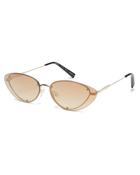 SHINY LIGHT GOLD WOMENS ACCESSORIES KENDALL AND KYLIE SUNGLASSES - KK4038-718SLGLD