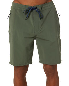 DARK OLIVE MENS CLOTHING RIP CURL SHORTS - CBOBH99389