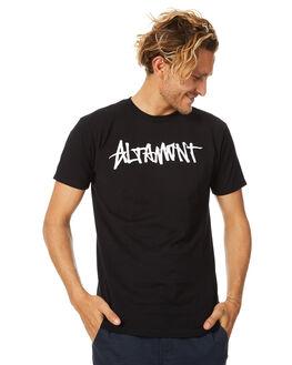 BLACK MENS CLOTHING ALTAMONT TEES - 3130002081001