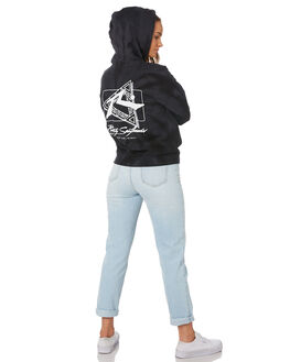 BLACK WOMENS CLOTHING RUSTY JUMPERS - FTL0704BLK
