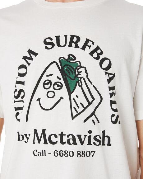 CHALK MENS CLOTHING MCTAVISH TEES - MSP-19T-01CHALK